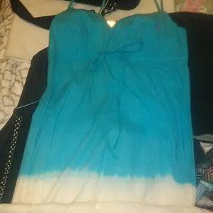 💥EUC Blue Tye Dye Maxi/ Sundress size Medium💥